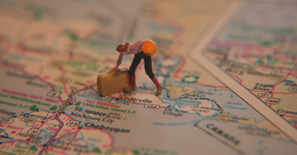 Cestování s kufry
