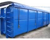 Plachty na kontejner 900gr/1m2, tvarovaná - cena za 1m²