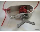 Napínací naviják na ocelové lanko