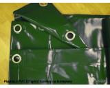 Plachty z PVC 570g/m2 8x10m zelená