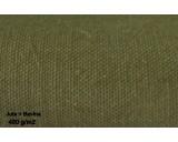 Plachta z nehořlavé tkaniny 50% BAVLNA + 50% JUTA 450g/1m² - cena za 1 m²