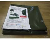 Autoplachtovina PVC 560g/m2 rozměry na kontejnery 3,5x6m zelená