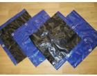 Plachty z PE plachtoviny MODRO-ČERNÁ (líc-rub) 200g/1m² - cena za 1m²