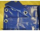 Plachty z PVC 570g/m2 8x10m modrá