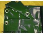 Plachty z PVC 570g/m2 6x10m zelená
