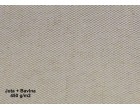 Nehořlavá celtovina - 50%Bavlna + 50%Juta - 450g/1m2, šířka 1m - režná - cena za 1 bm
