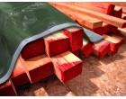 Plachta na zakrytí dřeva 1,5x6m - SUPER 200gr/1m2 s UV - zeleno-šedá