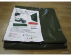 Plachtovina z PVC 560g/m2 3x6m zelená