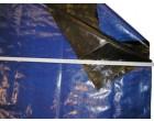 Plachtovina PE 200g/1m² modrá - cena za 100 bm