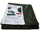 Plachtovina z PVC 560g/m2 2x5m zelená