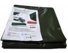Plachtovina z PVC 560g/m2 3,5x7m zelená